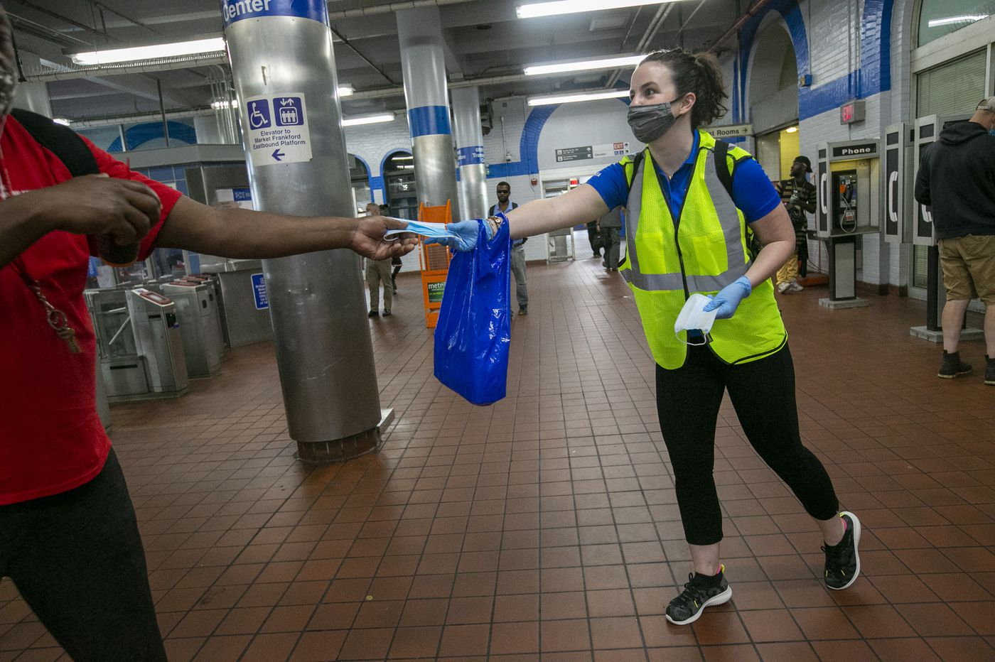 SEPTA's 'social-distancing coaches' are the newest part of your commute