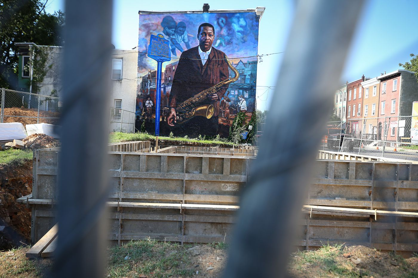 The threat to a John Coltrane mural shows how development can erase Black history in Philly