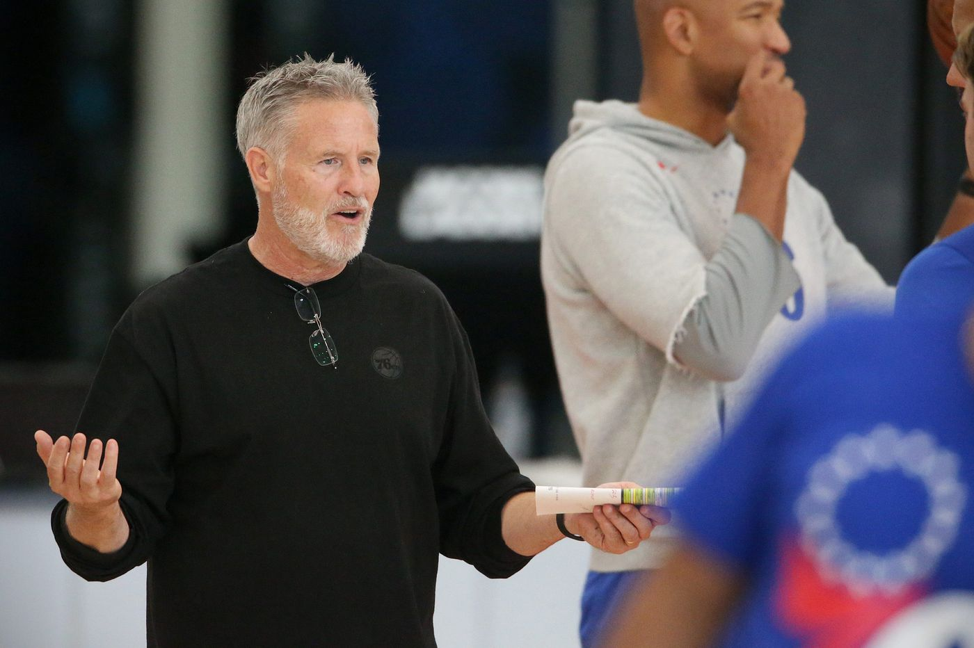 Sixers podcast: Coach Brett Brown has to be concerned by injuries