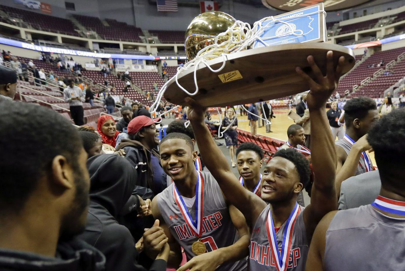 Imhotep dominates, defends PIAA title