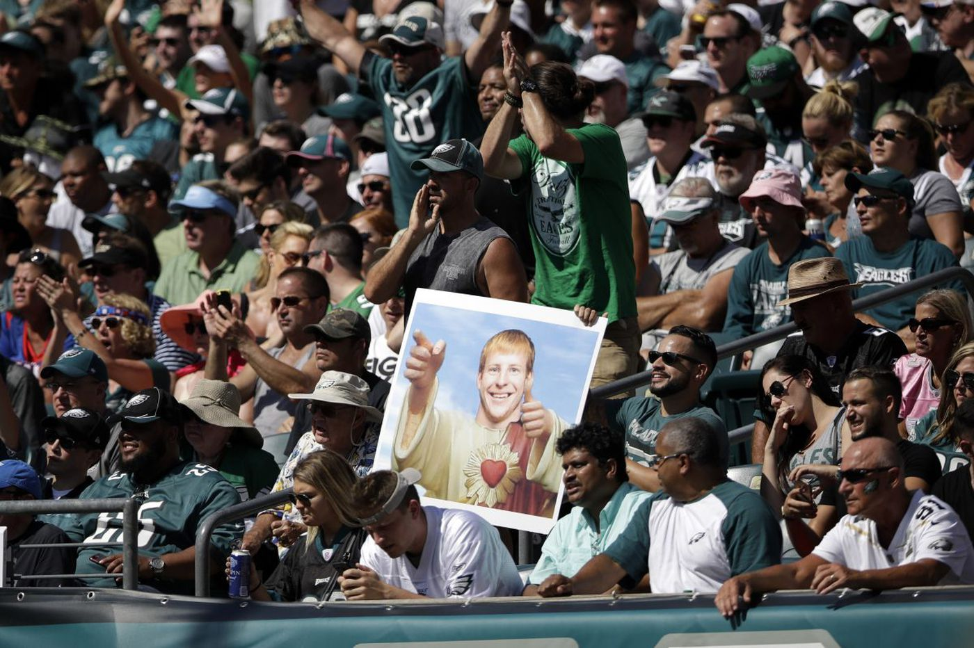 We cheer for this year's Eagles - and for ourselves