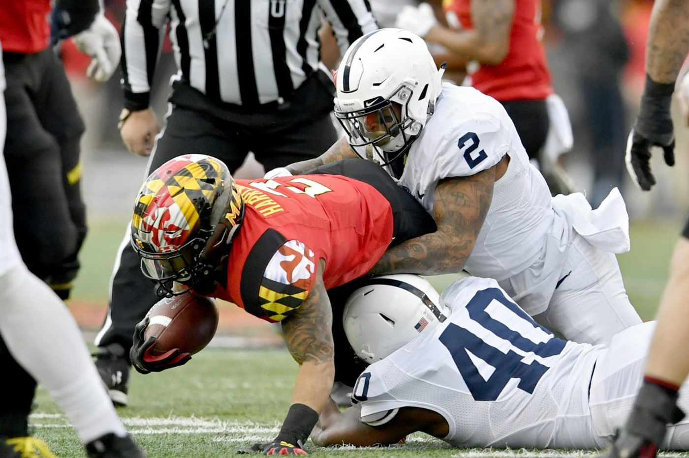 Marcus Allen enjoys homecoming at Penn State victory