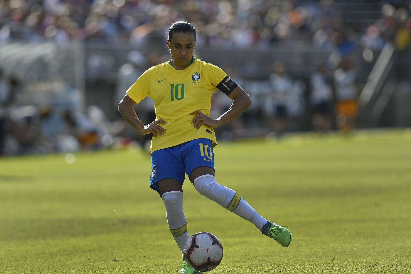 Brazil coach says 'Marta is still Marta' as World Cup nears