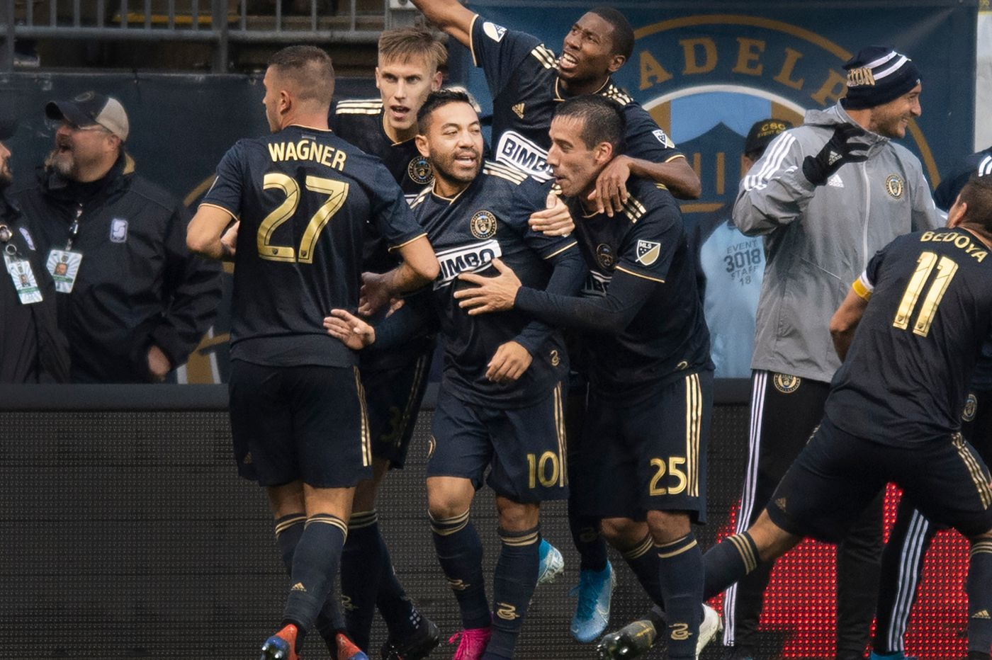 Marco Fabián's goal gives Union 4-3 win over New York Red Bulls, first playoff win in team history