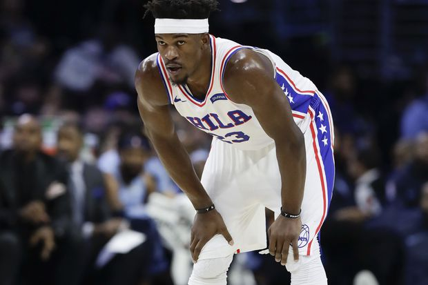 Sixers' Jimmy Butler returns to play against Cleveland Cavaliers
