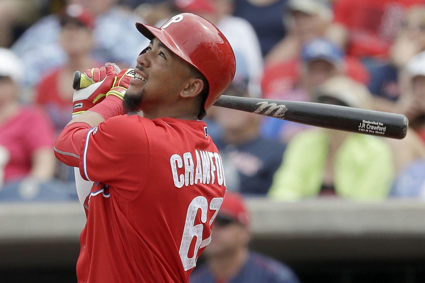 Lehigh Valley's J.P. Crawford swinging blistering bat