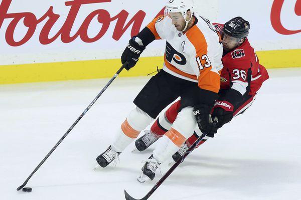 Flyers squeak past Senators in a shootout, 5-4