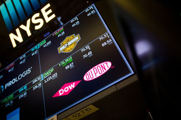 Break-up ahead: DowDuPont shares plunged on weak profit, trade, China outlook