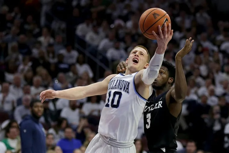 Villanova's Donte DiVincenzo, a 6-foot-5 redshirt freshman guard from Wilmington, was the Wildcats' third-leading scorer with a 13.8-point average.