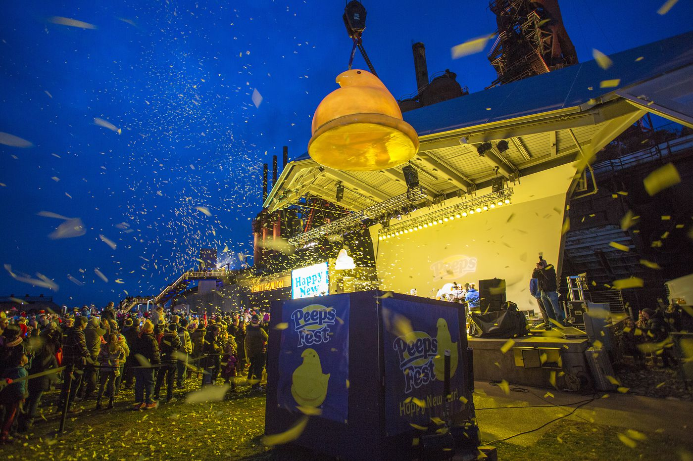 Weird New Year's Eve 'drops' in Pennsylvania: Sleds, pickles, and britches