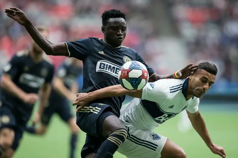 Oliver Mbaizo (left) made just four appearances for the Union in 2019.
