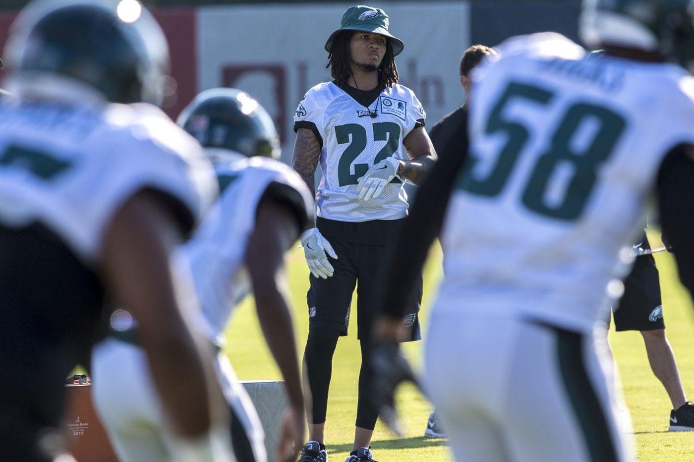 Eagles' Sidney Jones still not practicing; Doug Pederson says no timeline yet for return