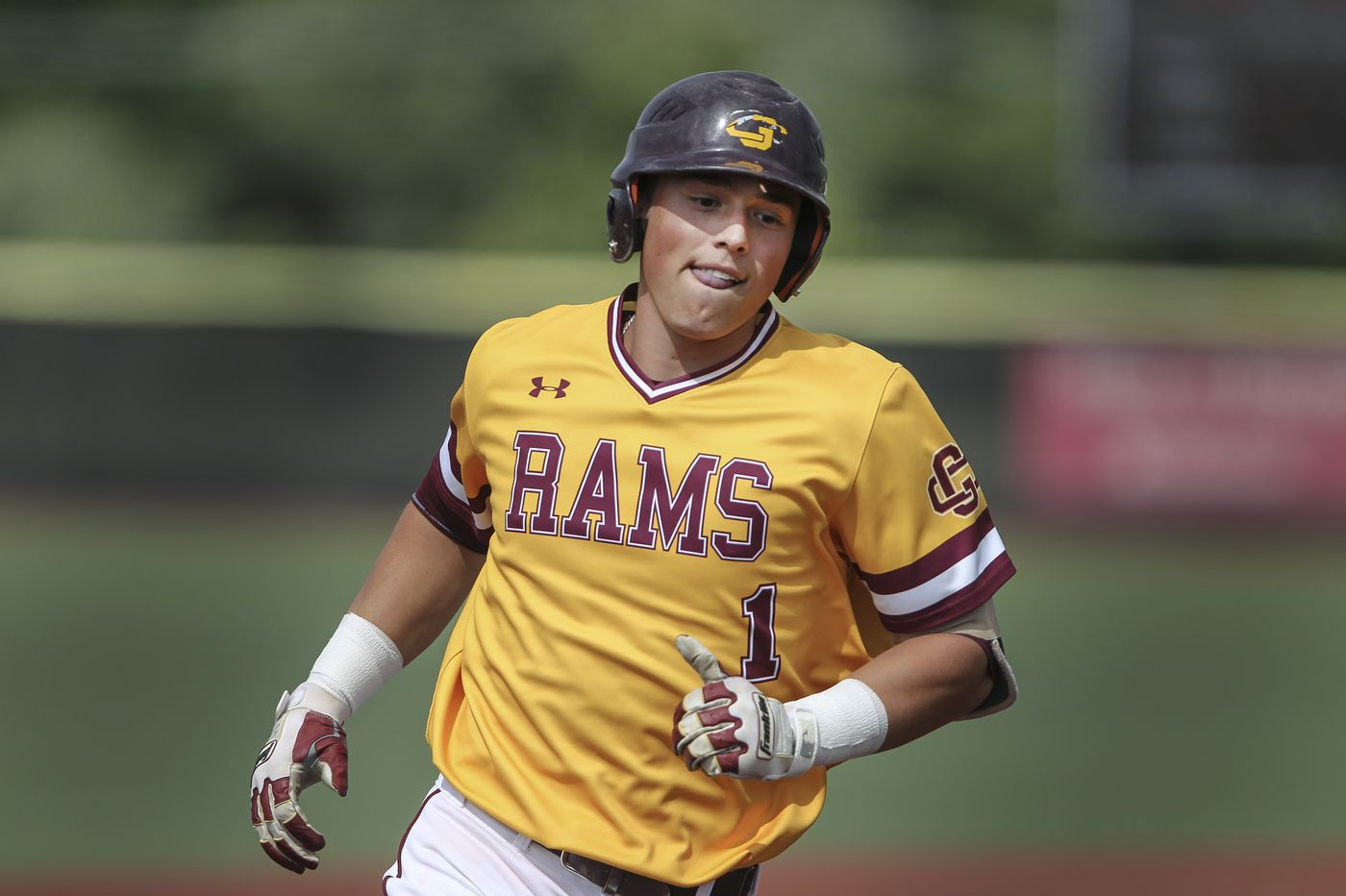 Gloucester Catholic's Evan Giordano is the South Jersey baseball player of the year