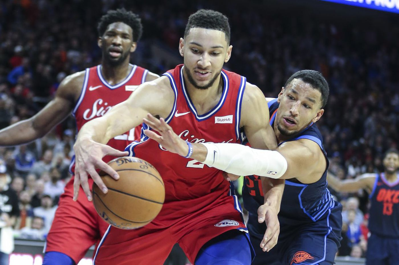 Sixers-Thunder observations, 'best' and 'worst' awards: Russell Westbrook, Robert Covington and mind-boggling final possession