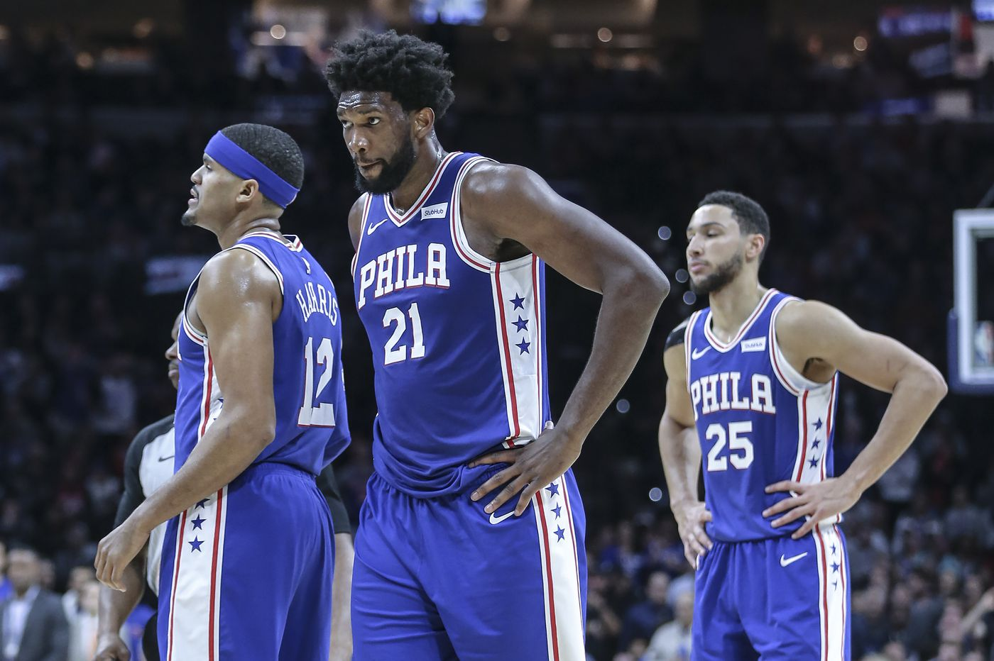 Ben Simmons hit a three, but the Sixers offense again looked lost. That, and other takeaways from an ugly win over the Knicks. | David Murphy
