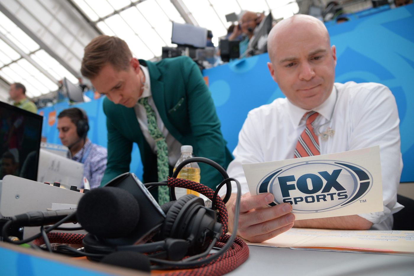 Once an American 'soccer nerd by myself,' John Strong now is calling the World Cup final for Fox