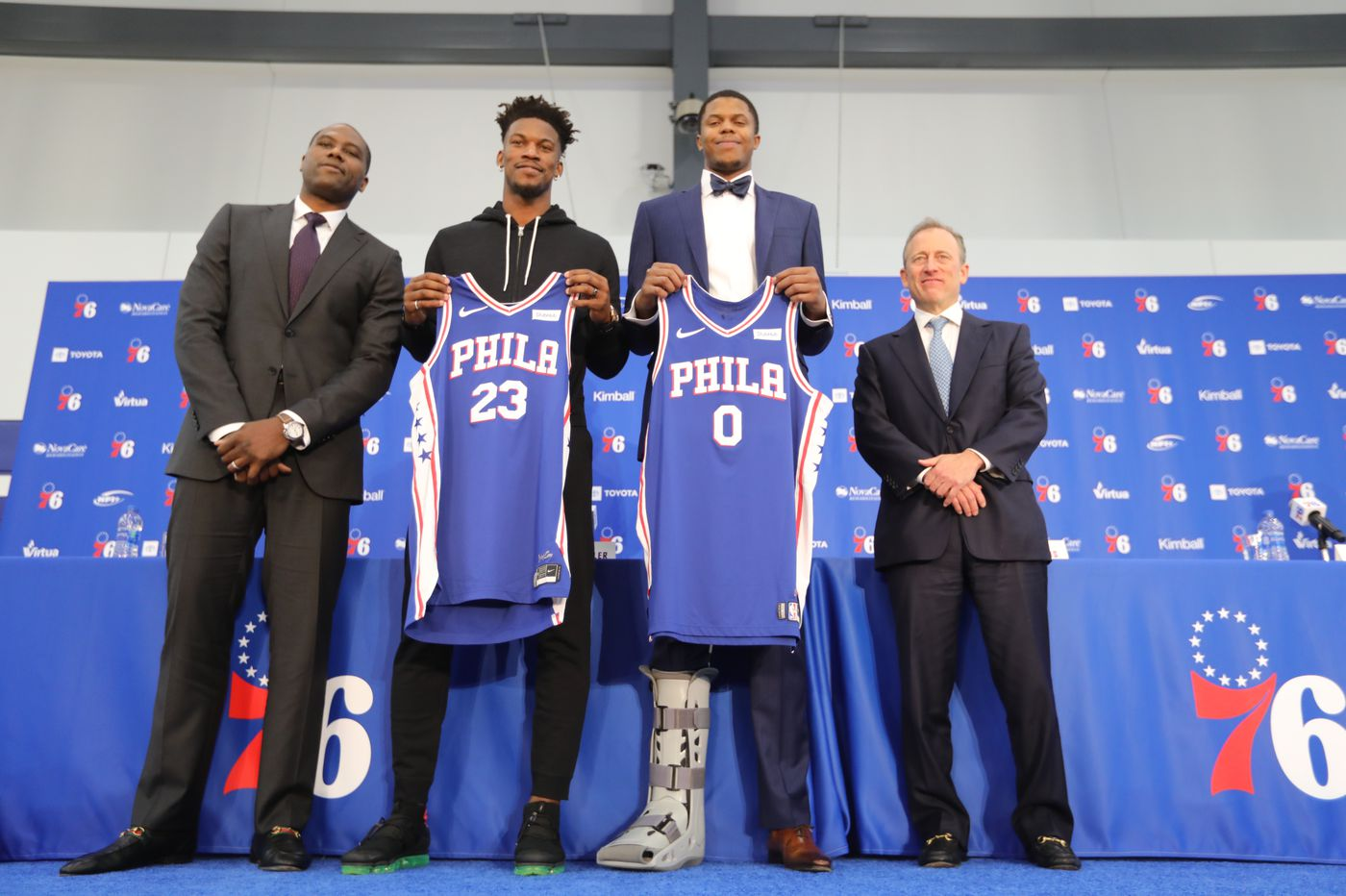 cheap for discount e3ef9 16804 Sixers introduce Jimmy Butler | Social media roundup