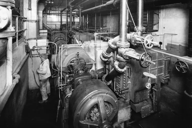 Three 75-ton units at the Stephen F. Whitman & Sons Philadelphia candy plant in 1923 were the first installation of Carrier's historic centrifugal chiller, a pivotal development in the history of air conditioning.