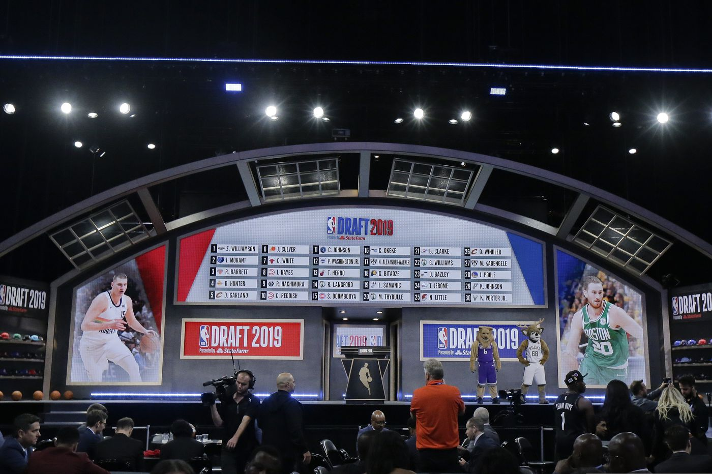 Sixers awarded 21st overall pick in 2020 NBA draft