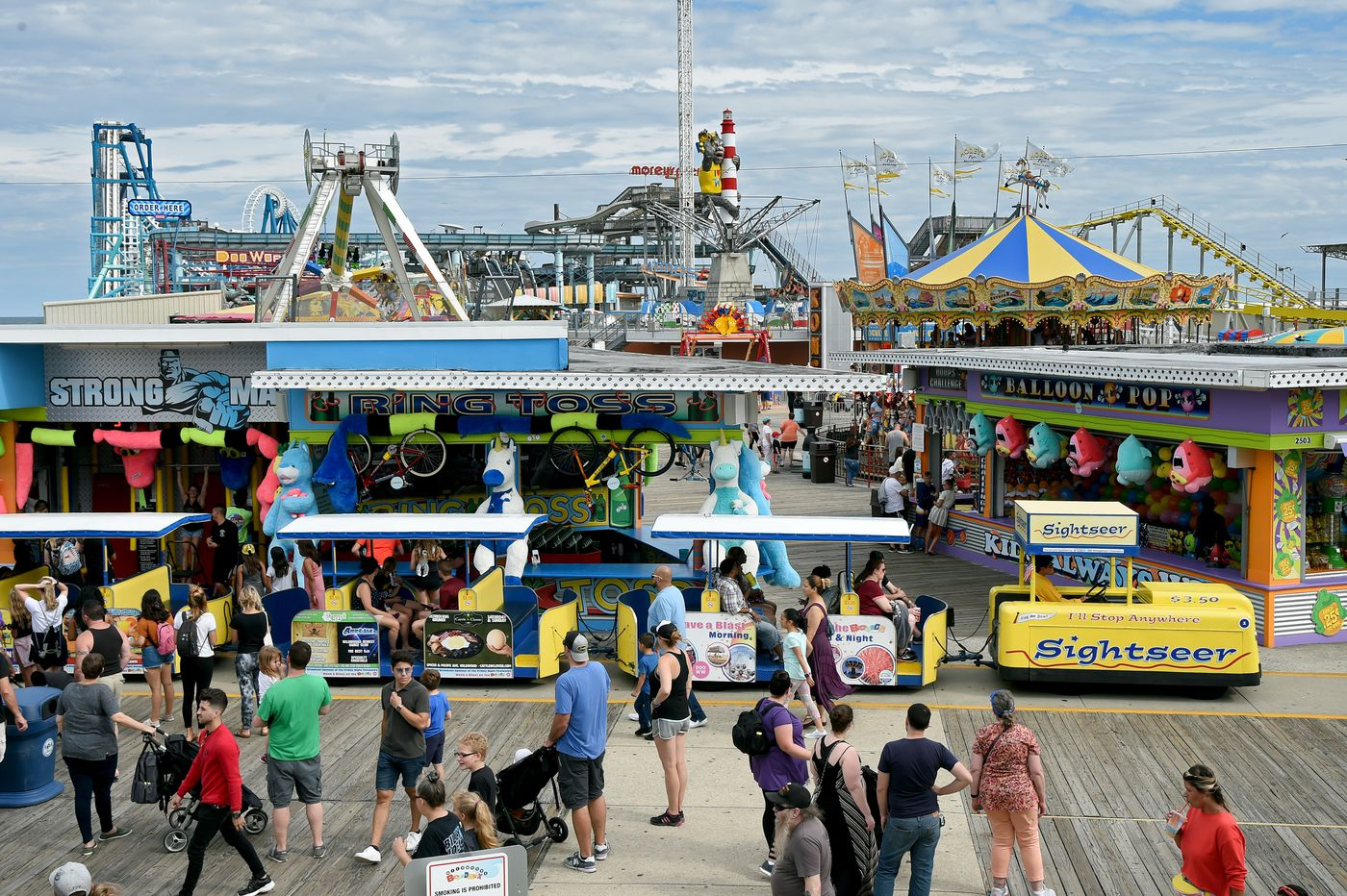With two boardwalk icons celebrating anniversaries in the Wildwoods, a new ride honors the past