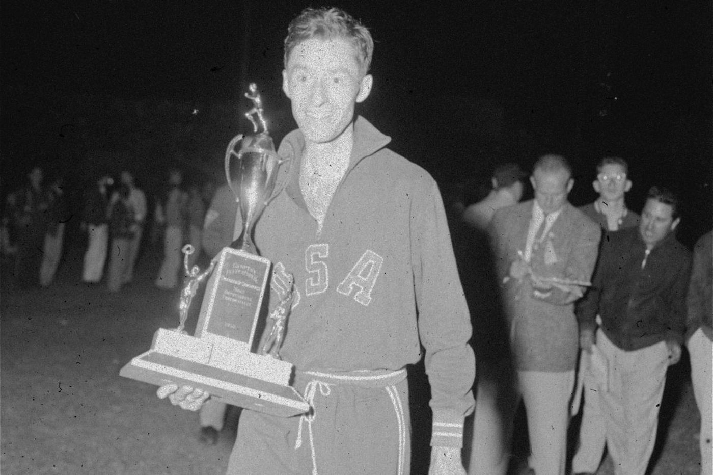 Horace Ashenfelter III, Olympic track and field gold medalist, dies at 94