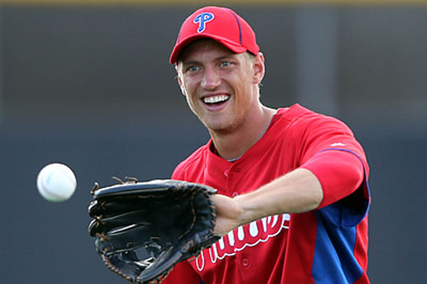 Phillies right fielder Hunter Pence makes quick recovery from left shoulder injury