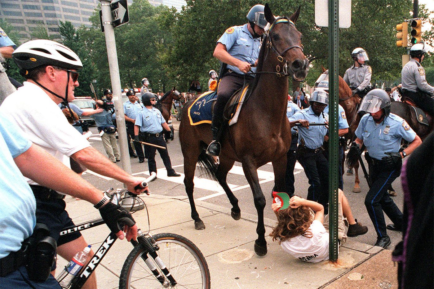 A legion of lawyers with long memories prepares for DNC protests