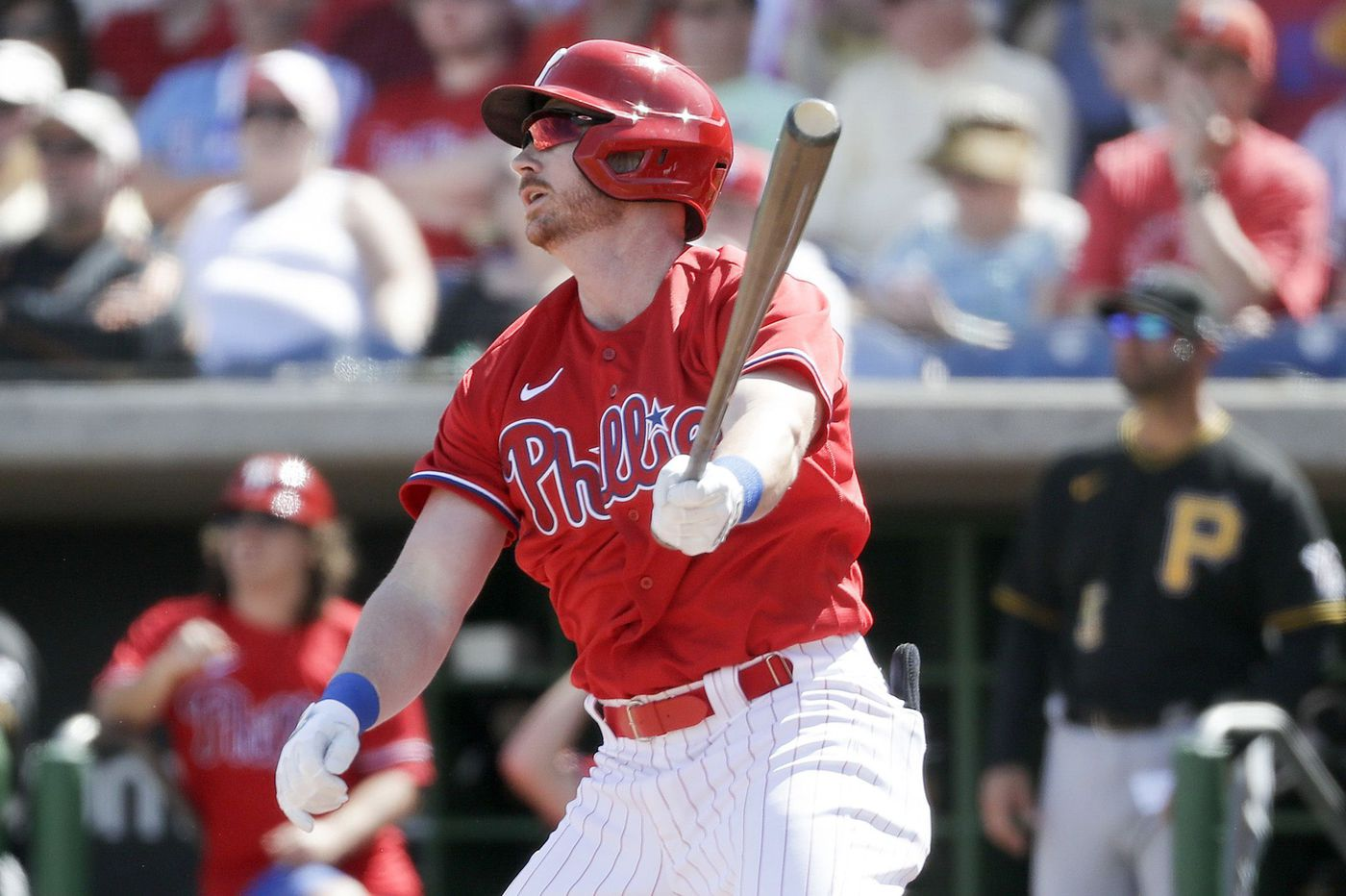 Phillies send Kyle Garlick, five others to triple A ahead of expected roster freeze