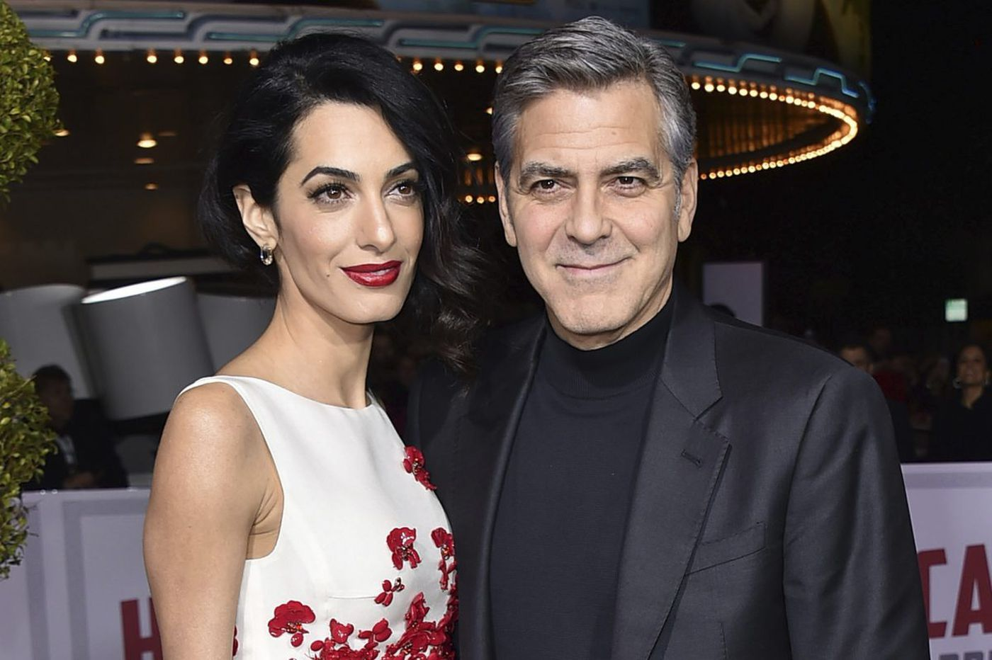 George and Amal Clooney announce birth of twins