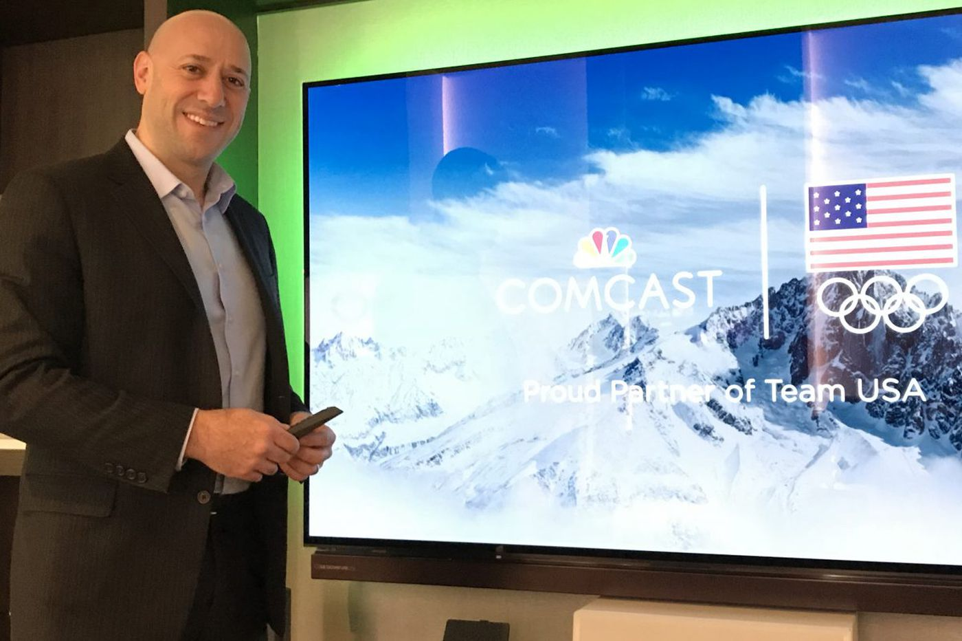 Comcast unveils the start of personalized television for Winter Olympics