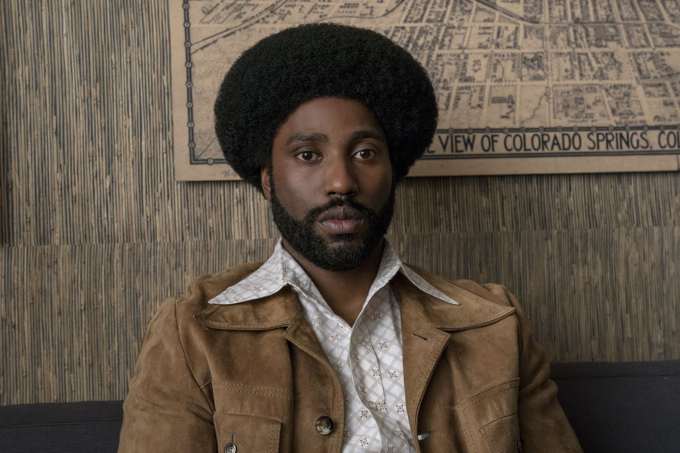 'BlacKkKlansman's' star John David Washington on what it's like to compete with his dad Denzel at the box office