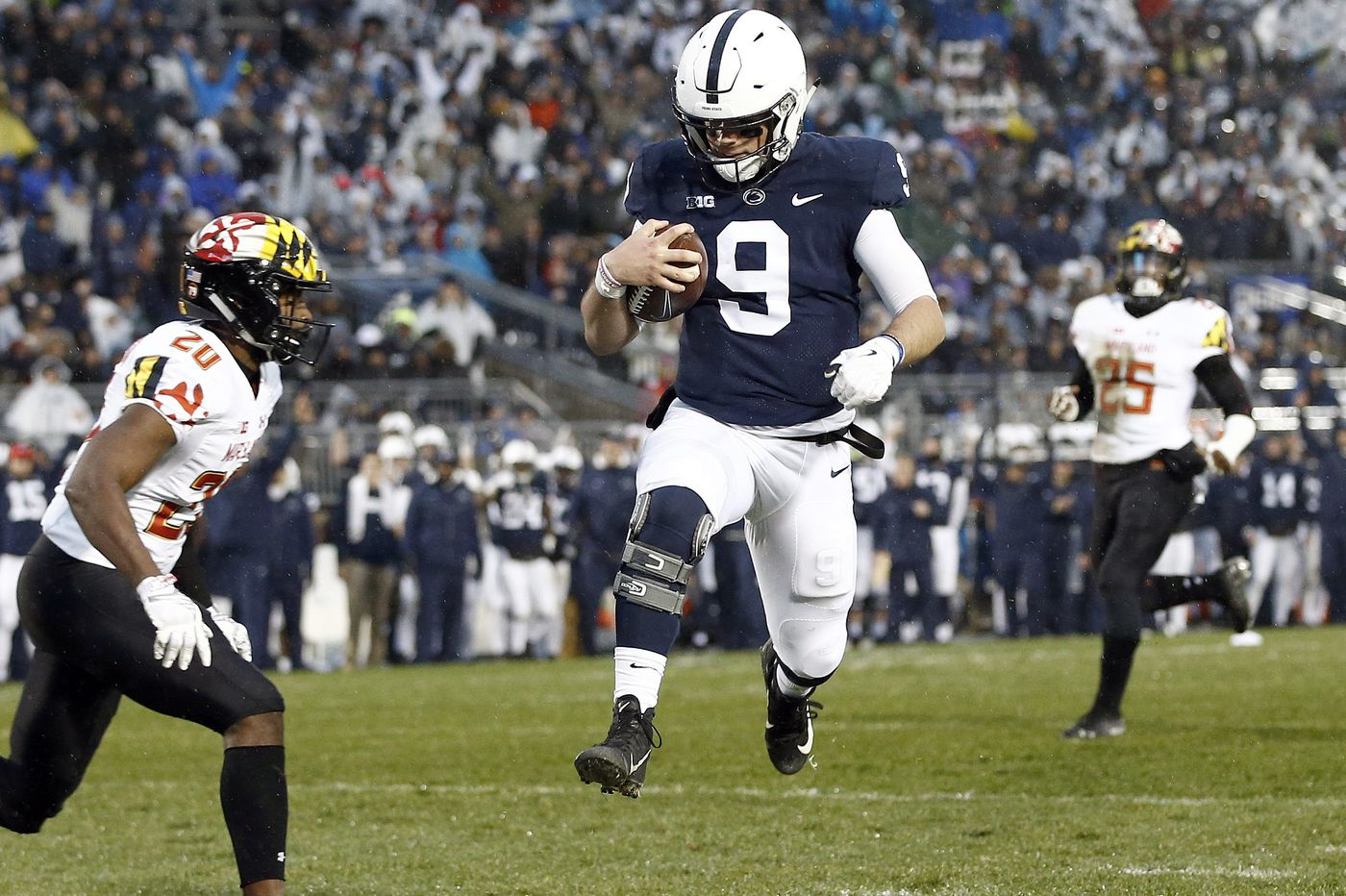 Trace McSorley leads Penn State to 38-3 win over Maryland in his final game at Beaver Stadium