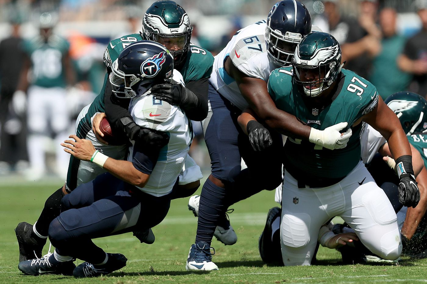 Titans 26, Eagles 23: Eagles drop to 2-2 as defense can't stop Marcus Mariota in overtime