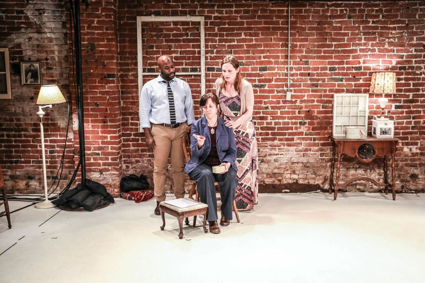 'Splinter and Crack' at Juniper Productions: A chase across time and psyche, with breaking hearts