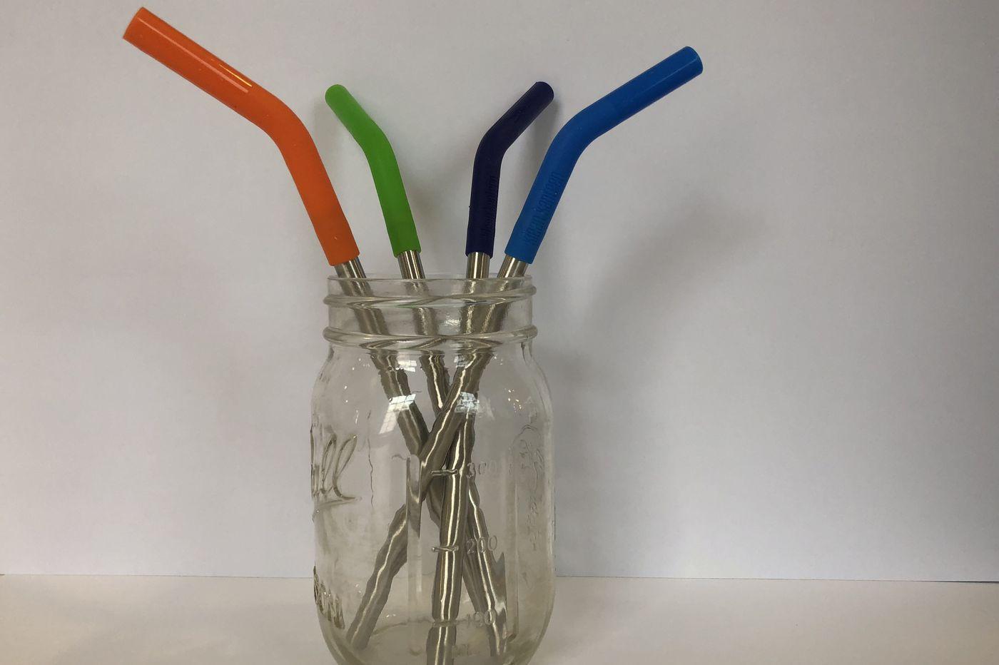 Avoiding plastic straws? Try this metal version to ease environmental guilt