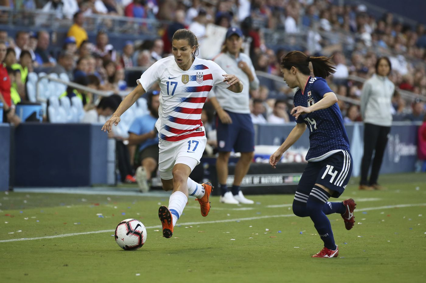 USWNT star Tobin Heath is beco...