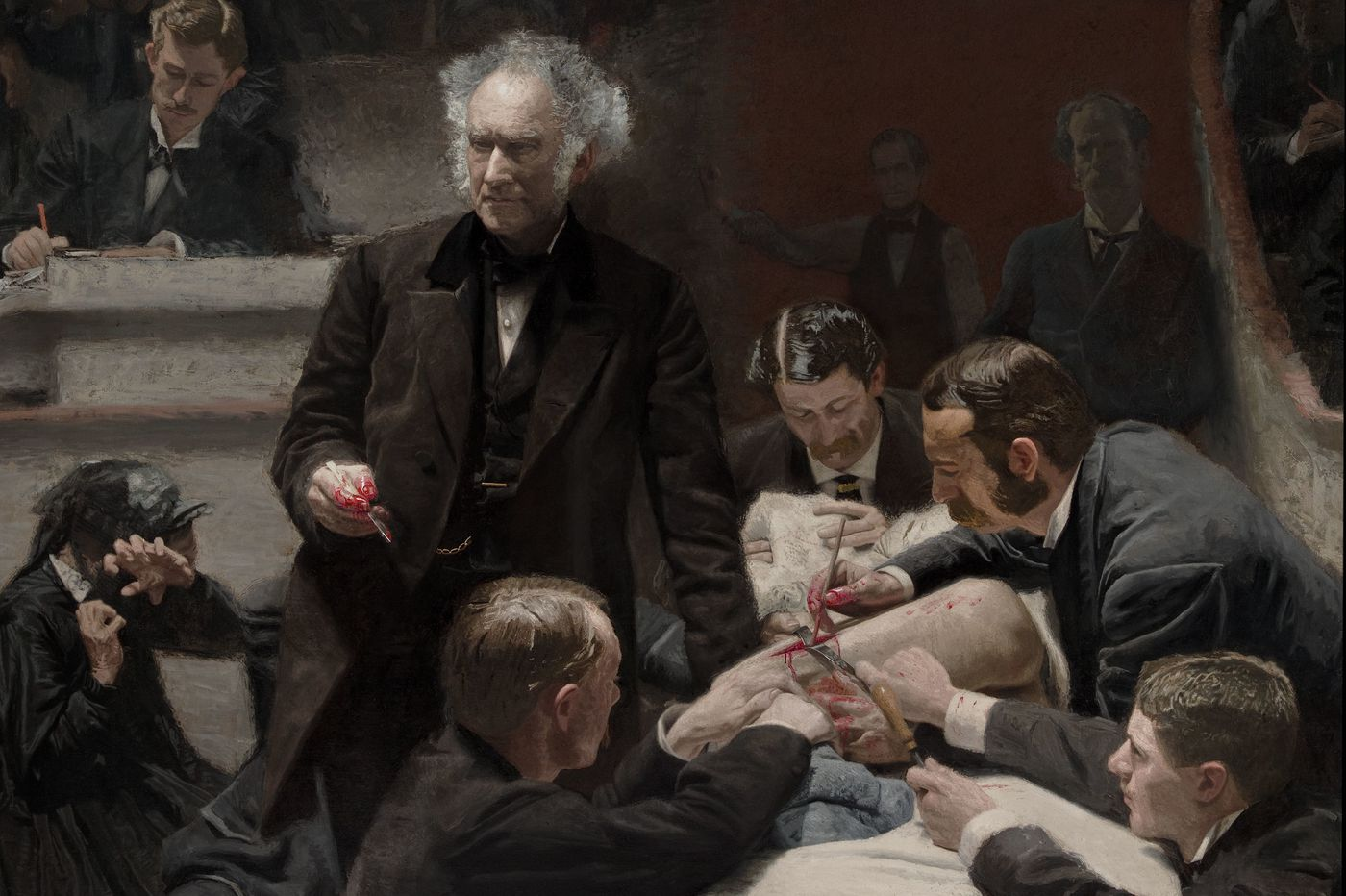 The medical gods vs. the caregivers: Seeing the Art Museum's 'Gross Clinic' masterpiece anew amid COVID-19