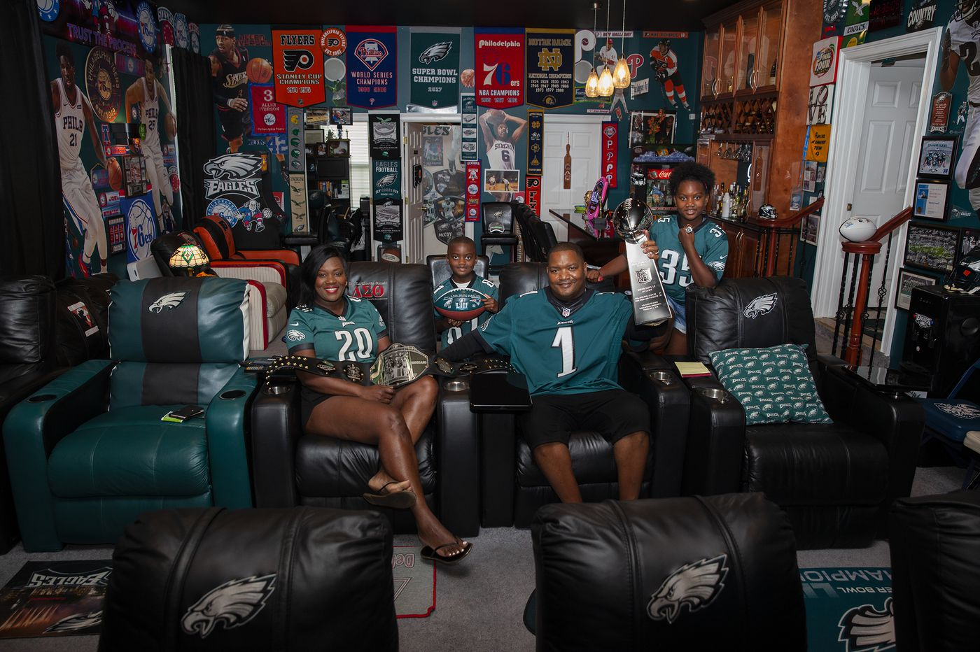 6679f2c0092 How these Eagles diehards made fan caves fit for champions