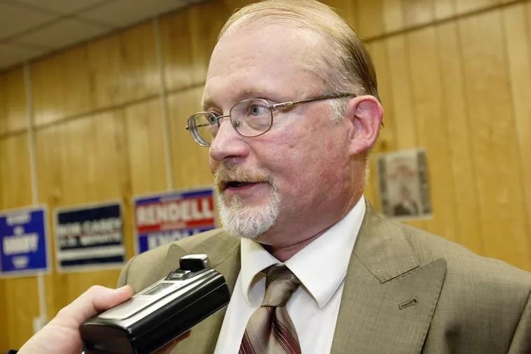 File photo: Then-Democratic ward leader Bill Greenlee in 2006. Greenlee, now a city councilman,  .  Daily News Photo / Jori Klein