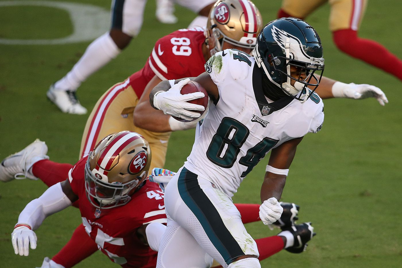 Even in victory, Eagles' situation at wide receiver borders on inexcusable | David Murphy