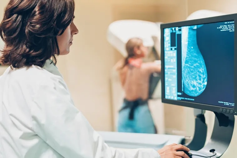 A suspicious mammogram might prompt genetic testing to look for genes that have been implicated in hereditary breast cancer.