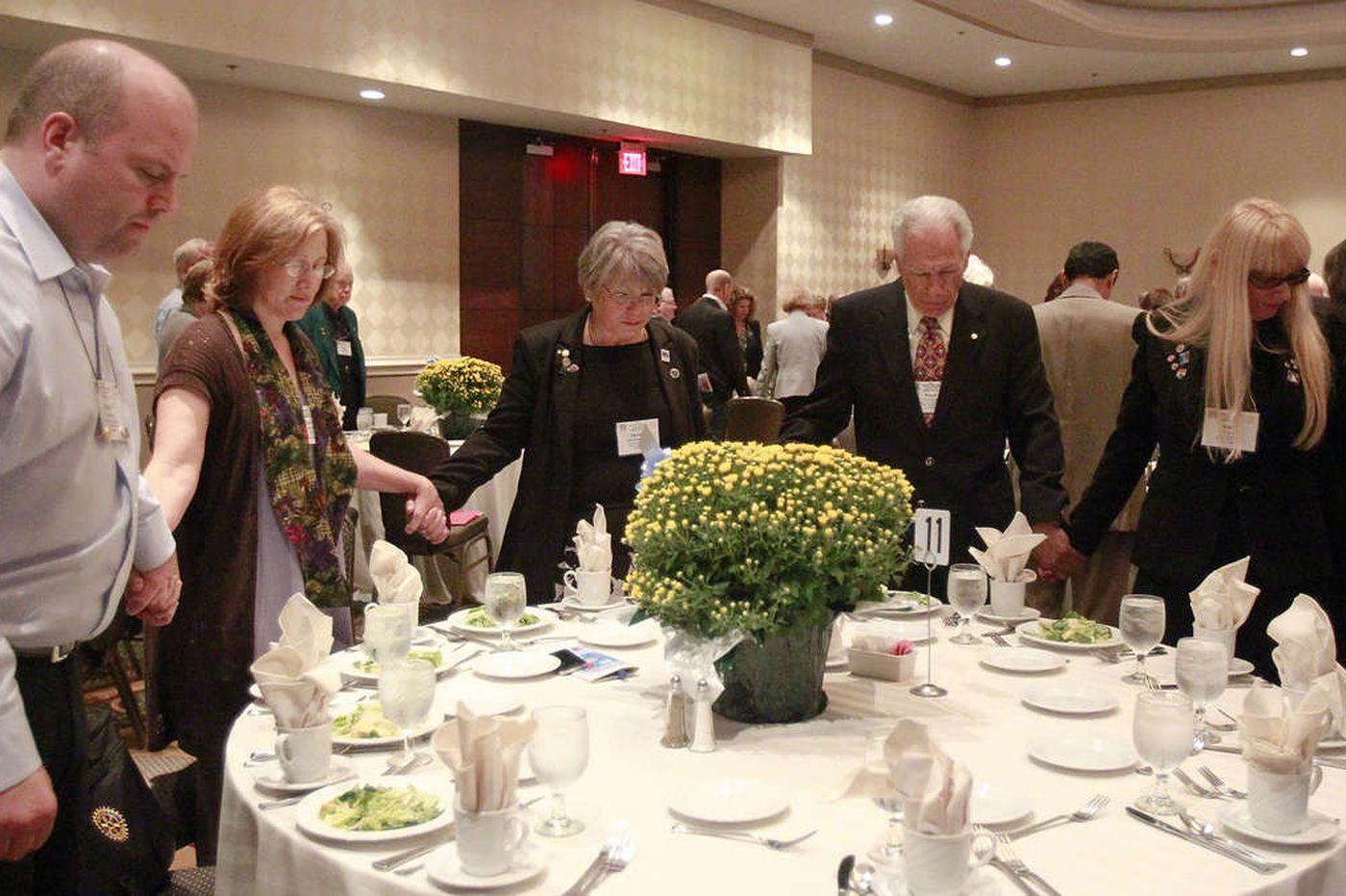 Rotary president: Recruit new members or risk extinction
