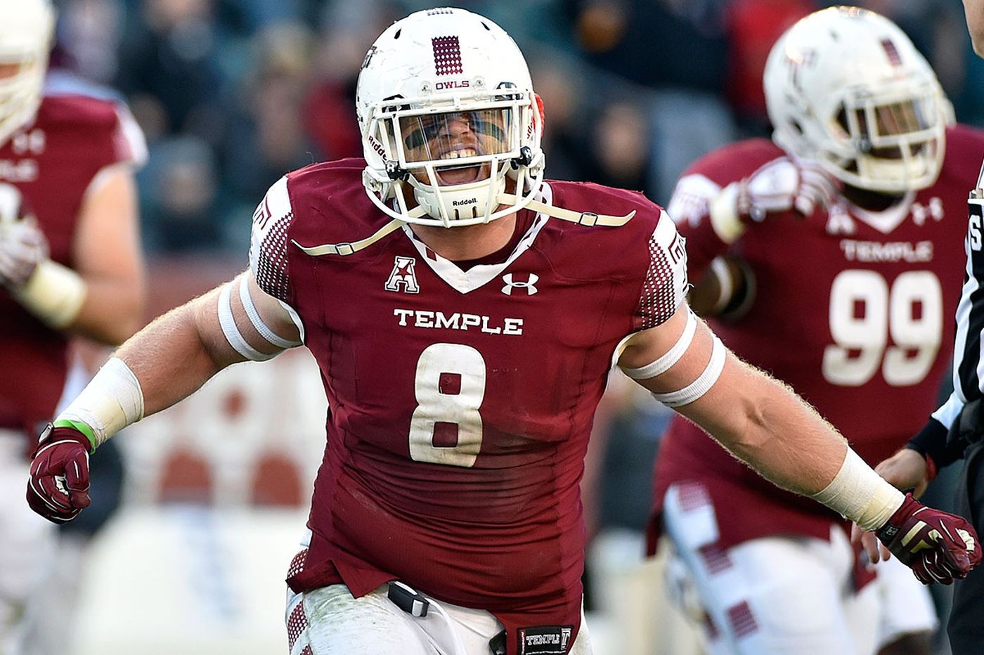 Temple's Tyler Matakevich selected nation's best defensive player