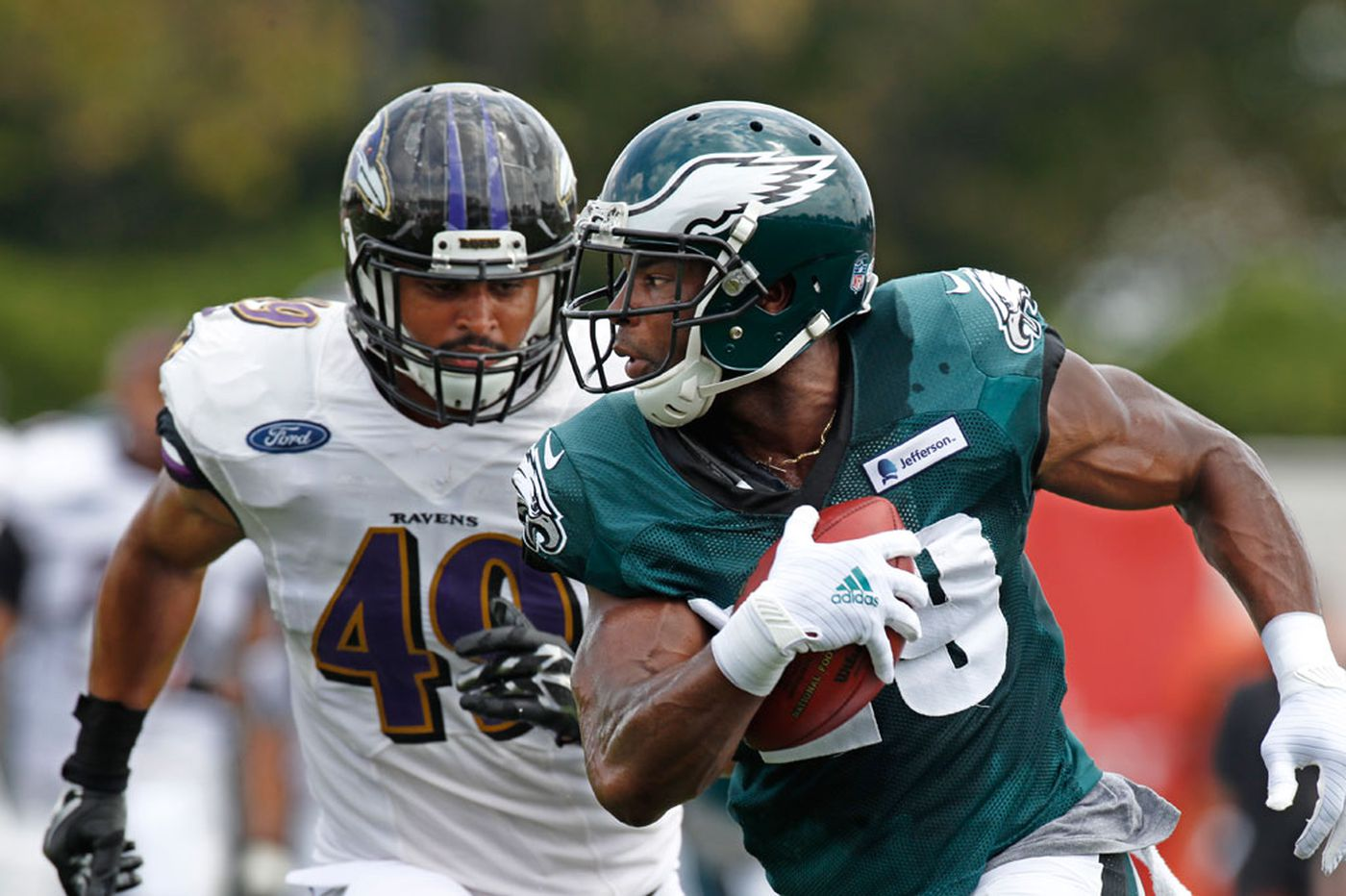 Eagles to have intersquad practices with Baltimore Ravens during training camp