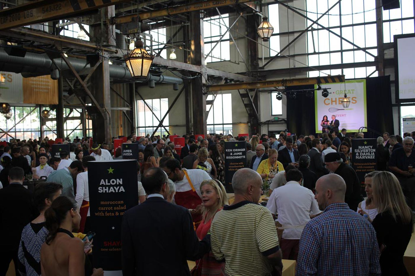 Great Chefs Event to assemble 40 chefs, foie gras cotton candy, and family fun