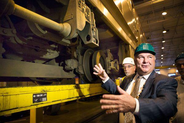 Maker of SEPTA rail cars blames cracks on flawed weld