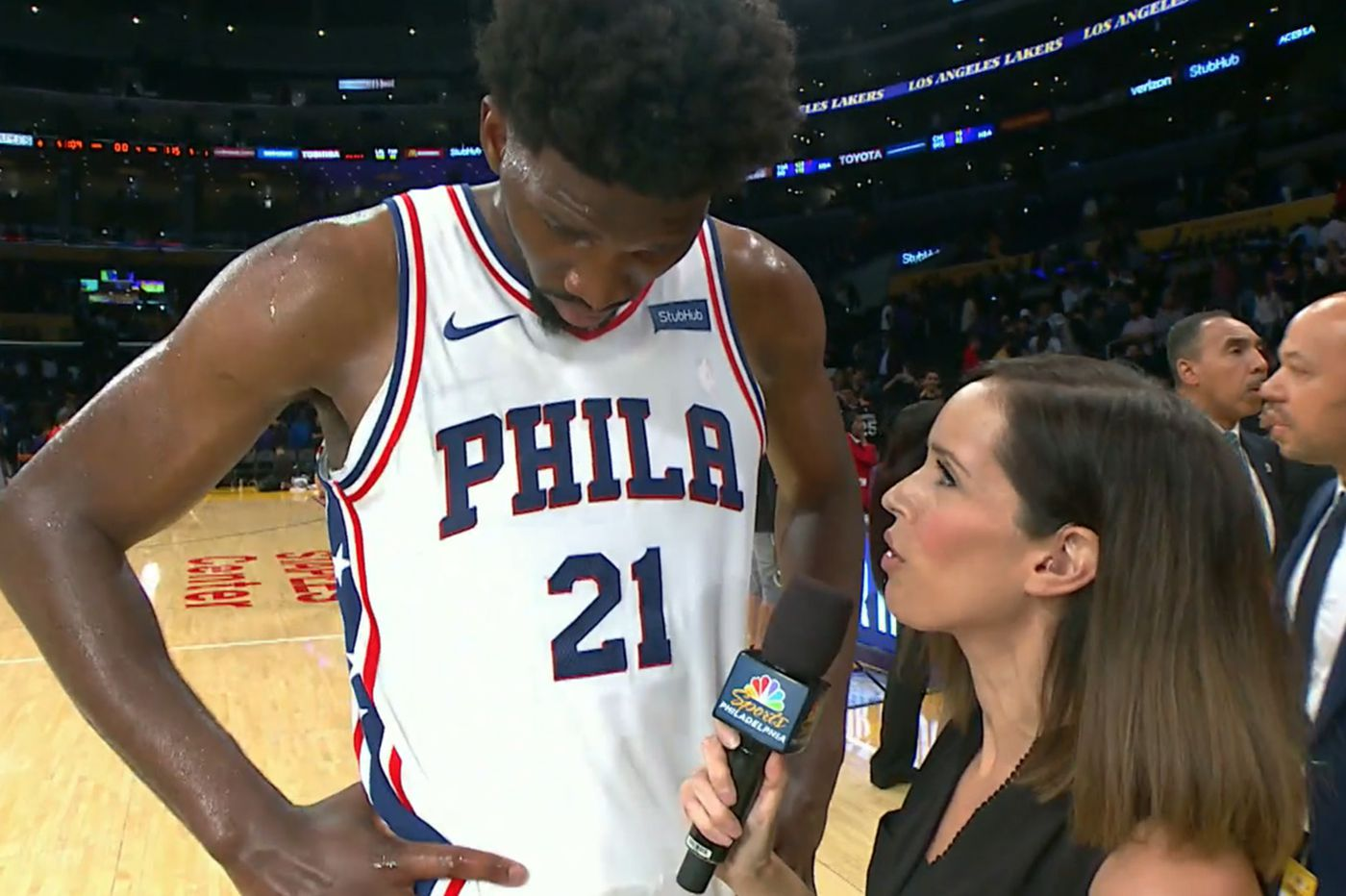 Sixers sideline reporter Molly Sullivan out at NBC Sports Philadelphia