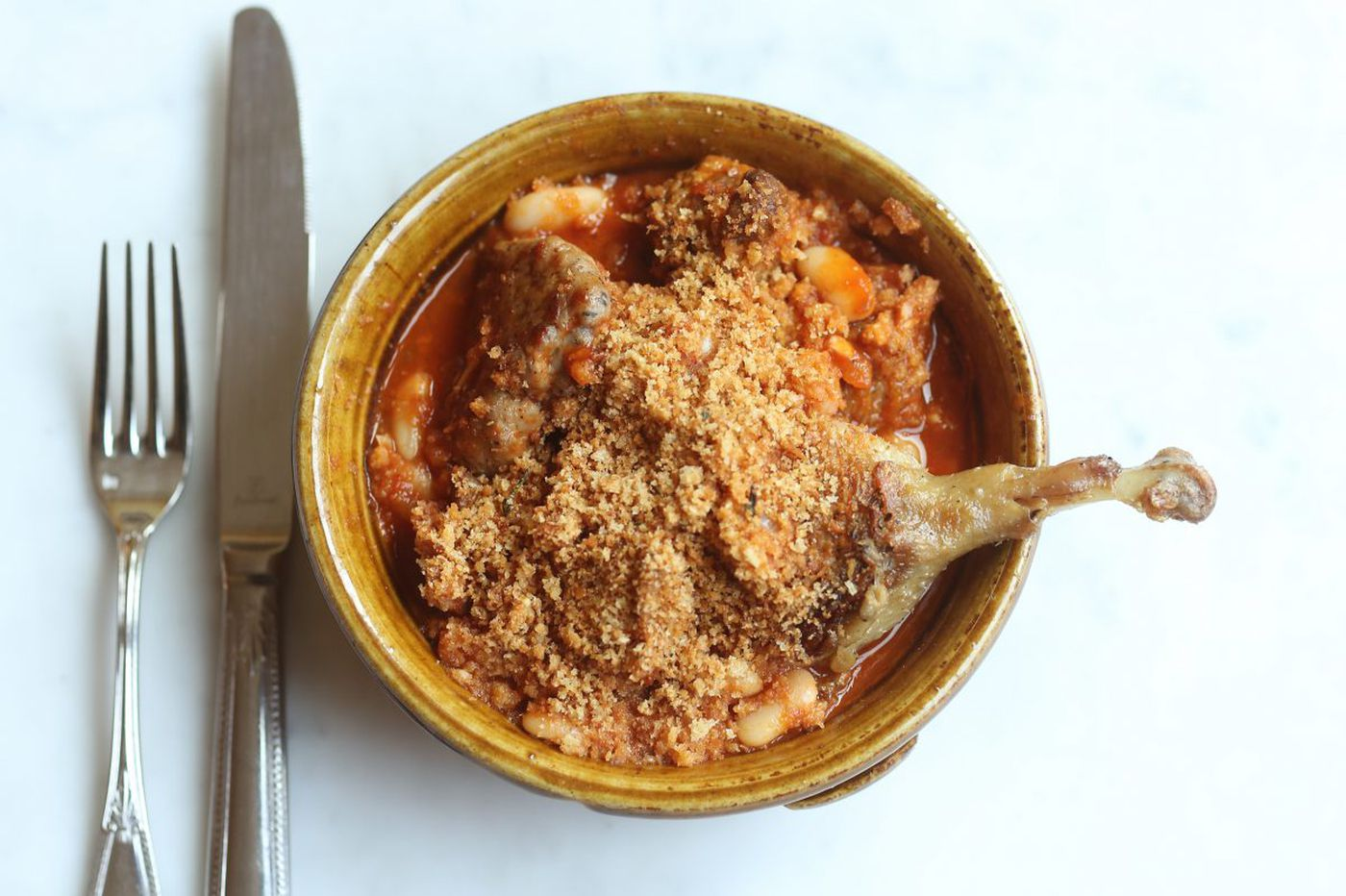 It's cassoulet season at Bistrot La Minette