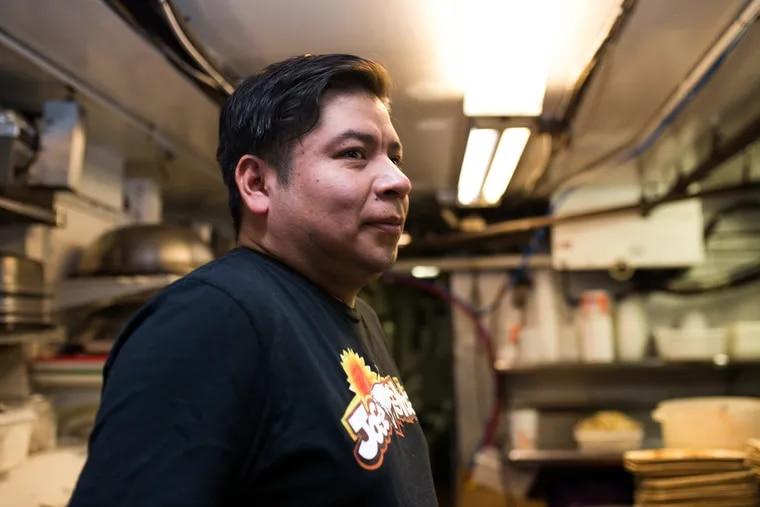 Adan Trinidad rose from dishwasher to chef of three restaurants in Philadelphia.