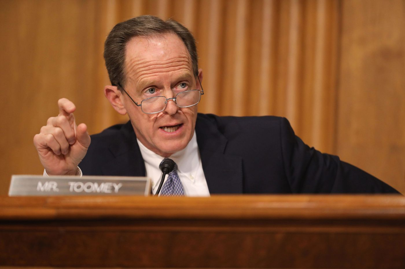 Pat Toomey is 'very, very skeptical' he'll support calling witnesses in Trump's impeachment trial